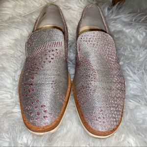 Free People Snake Eyes Leather Shoes